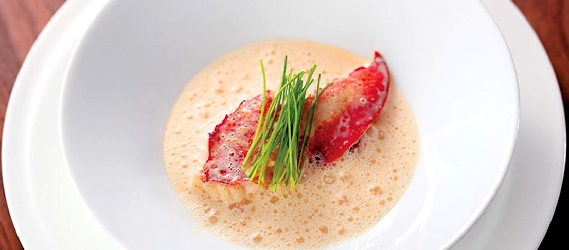 Lobster Soup : Whip our lobster broth, cream, and butter to make a light and tasty soup.